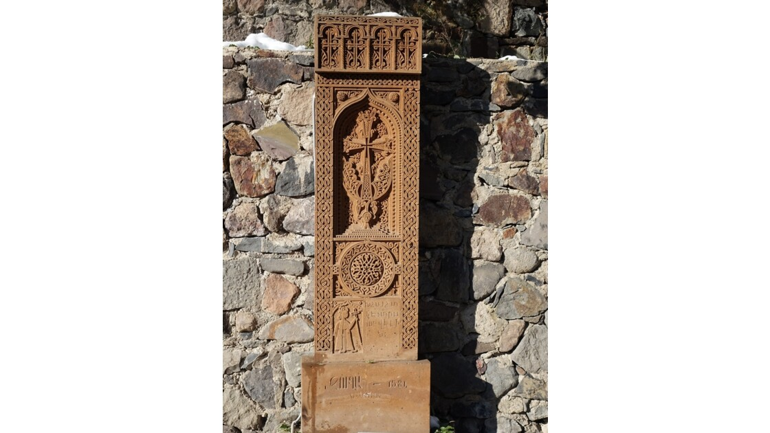 Arménie Guéghard Copies de khachars du cimetière arménien de Julfa 5