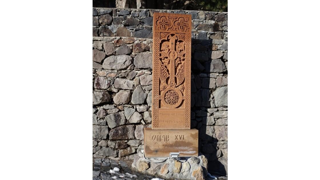 Arménie Guéghard Copies de khachars du cimetière arménien de Julfa 7