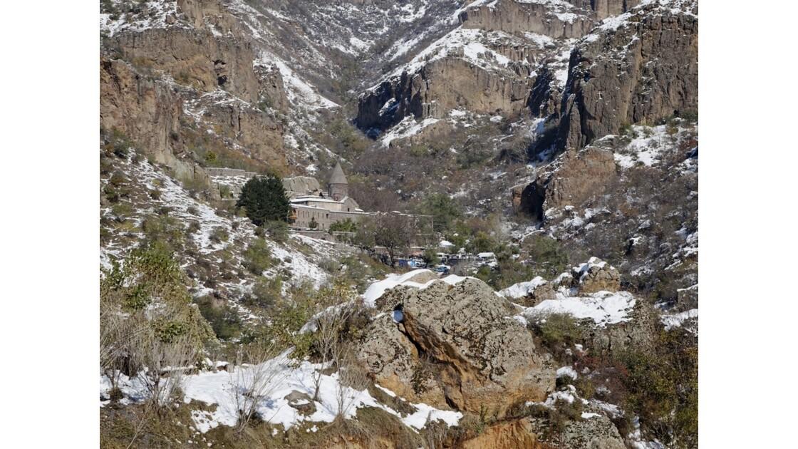 Arménie monastère de Guéghard 1