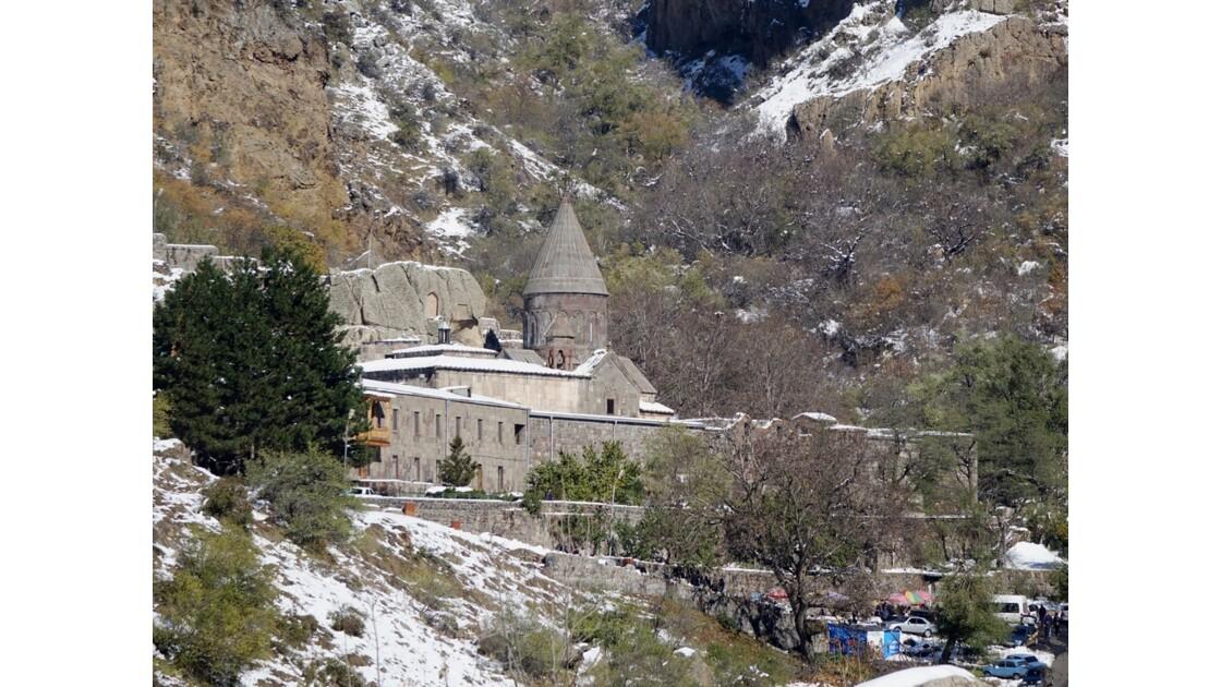 Arménie monastère de Guéghard 2