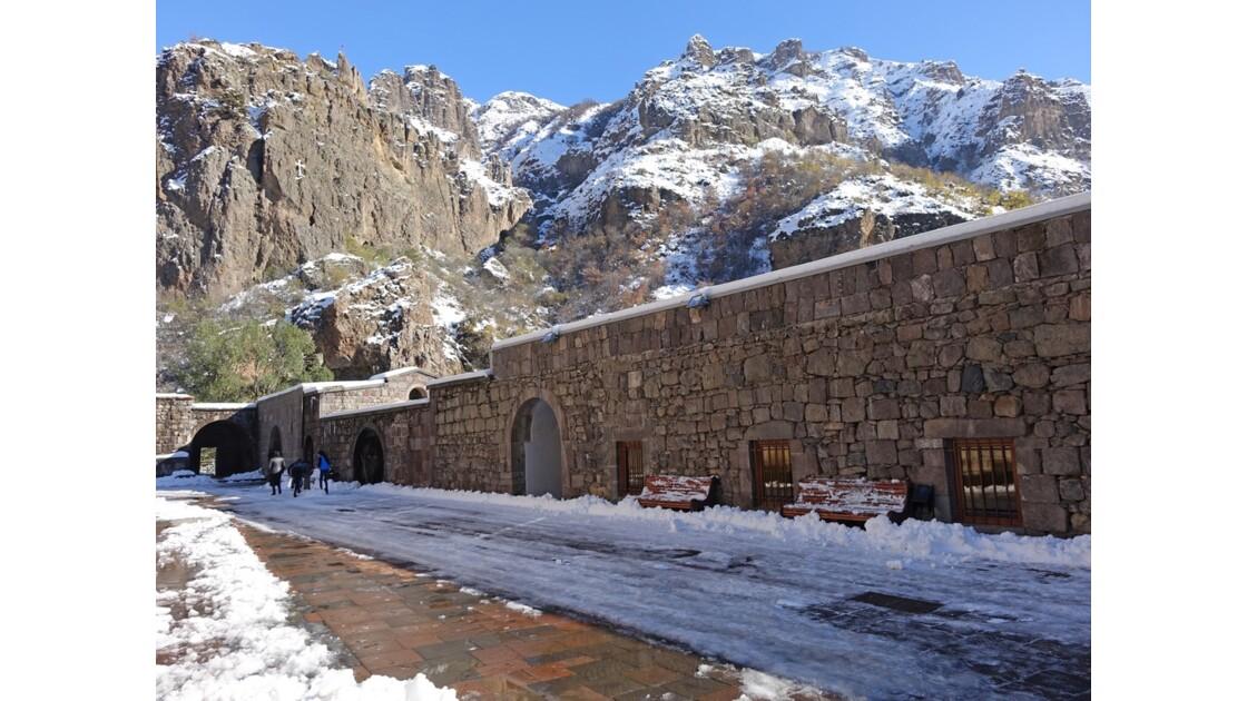 Arménie monastère de Guéghard 3