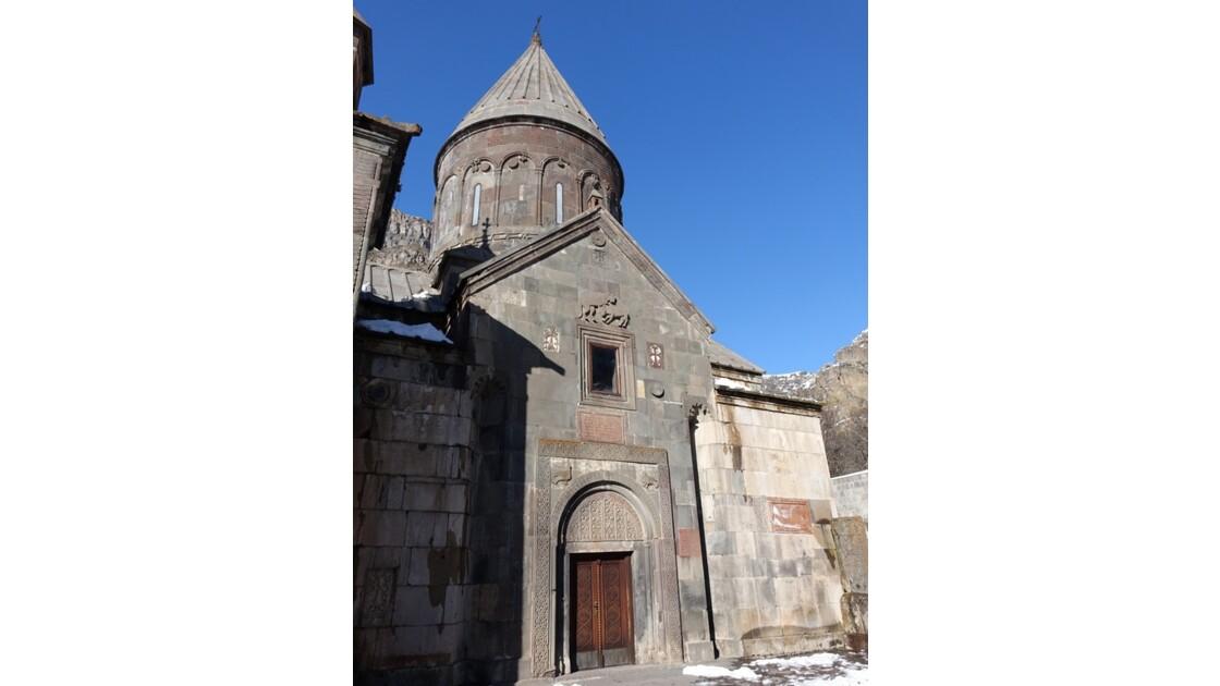 Arménie Guéghard Arménie Guéghard Kathoghiké Façade sud