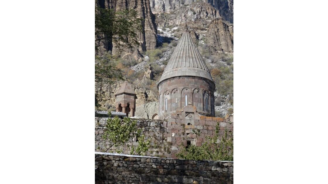 Arménie Guéghard Coupole de l'église  Kathoghiké 1