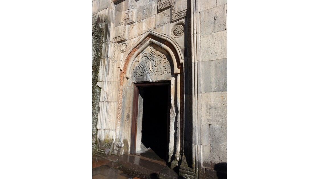 Arménie Guéghard Entrée du  Jamadoum (vestibule)