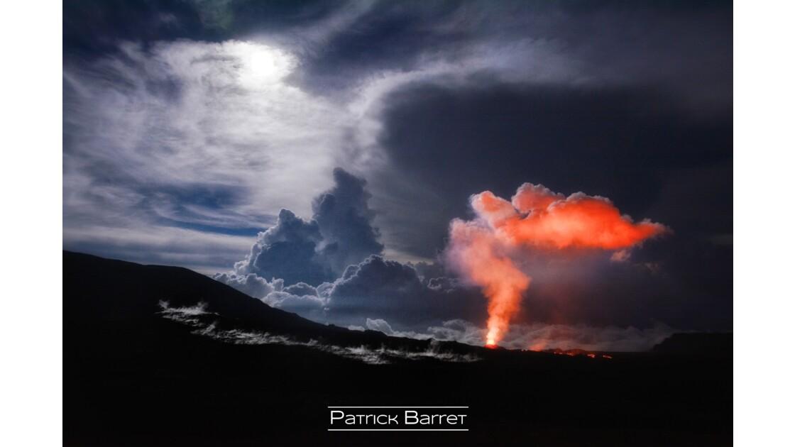 Piton de la Fournaise - Eruption