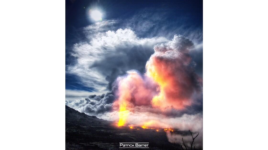Piton de la Fournaise - Eruption - 11 Février 2017 - Île de la Réunion