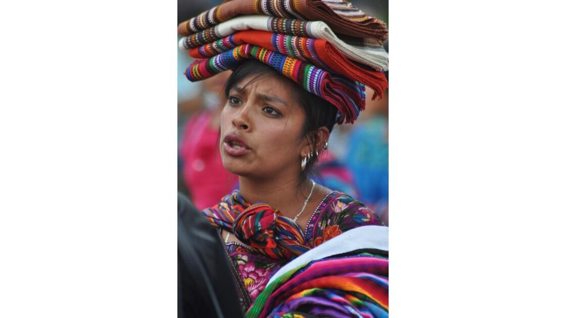 Vendeuse de tissus, Antigua