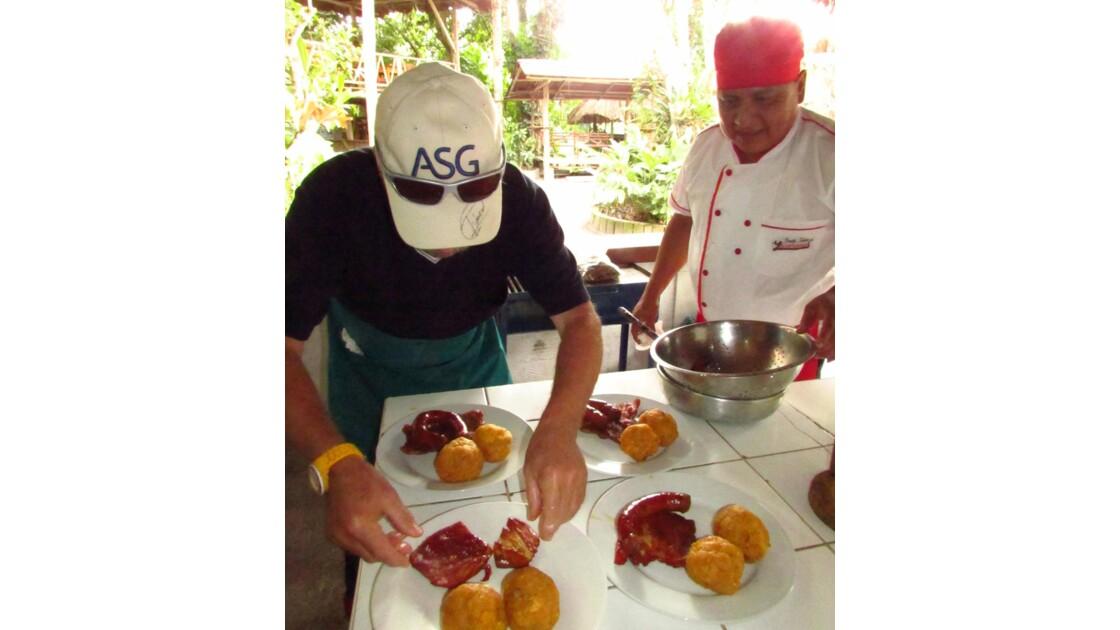 Cours de cuisine, Yacumama