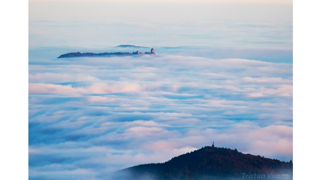 Mer de nuages en Alsace