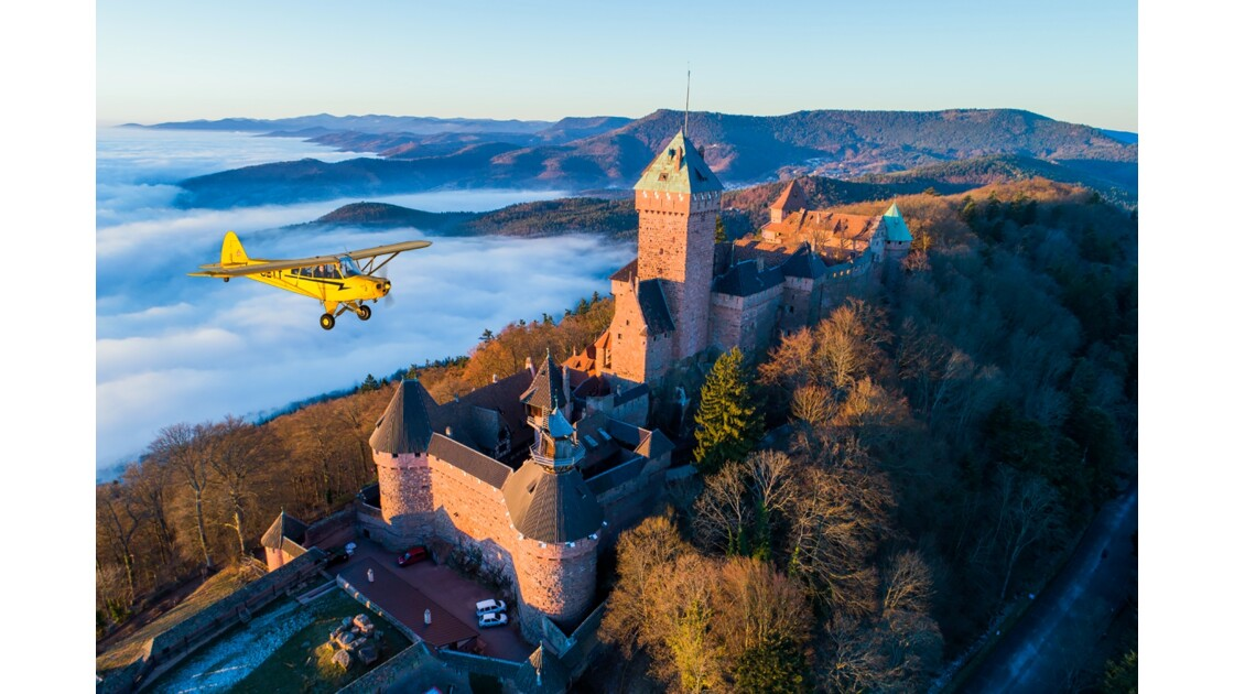 Lever de soleil au Château du Haut-Koenigsbourg