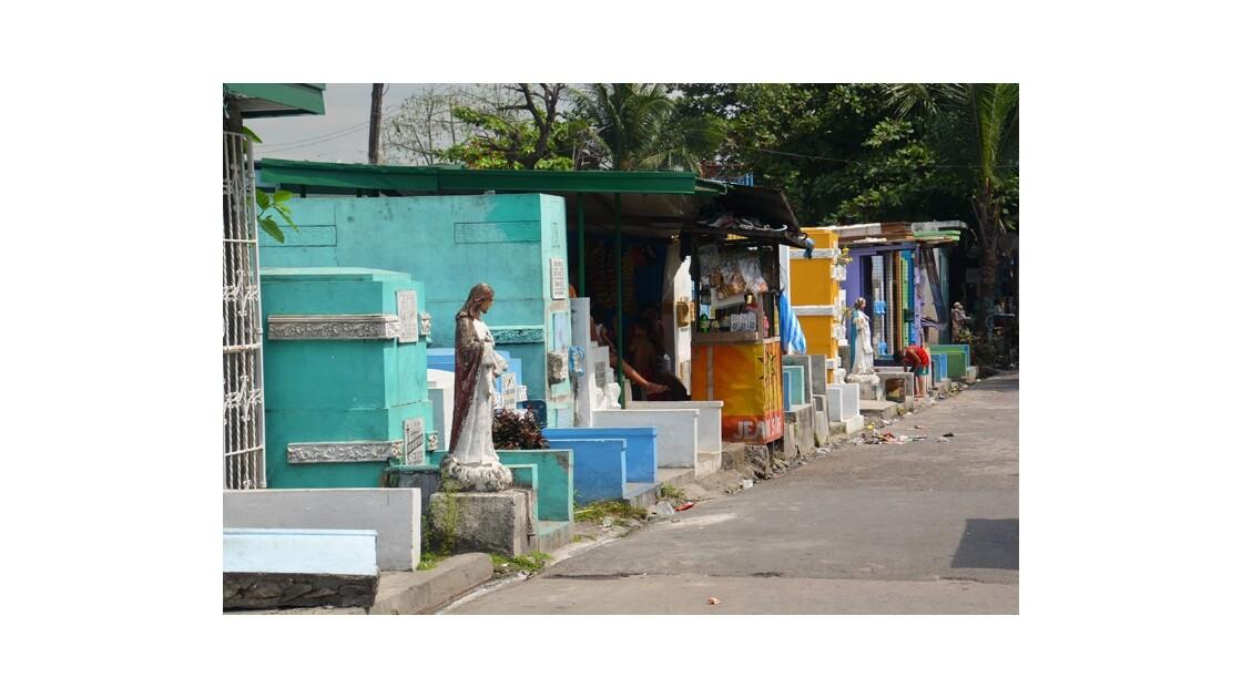 Cimetiére de Manille Philippines