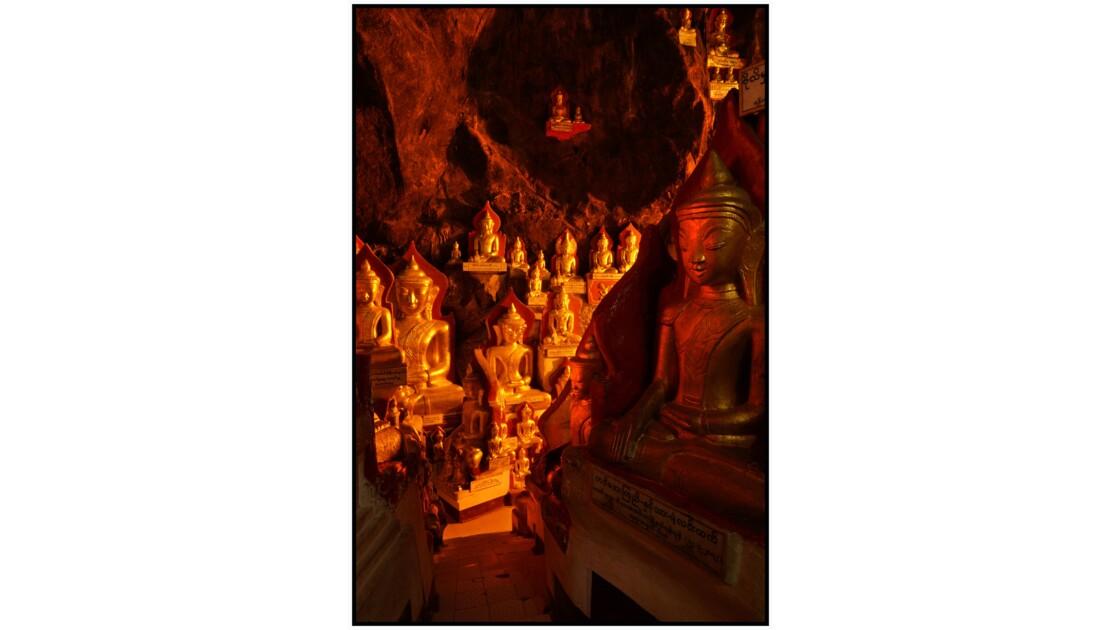 Pindaya - La grotte de Shwe U Min