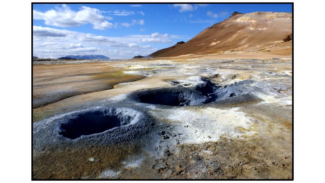 Lac Mývatn - Námafjall