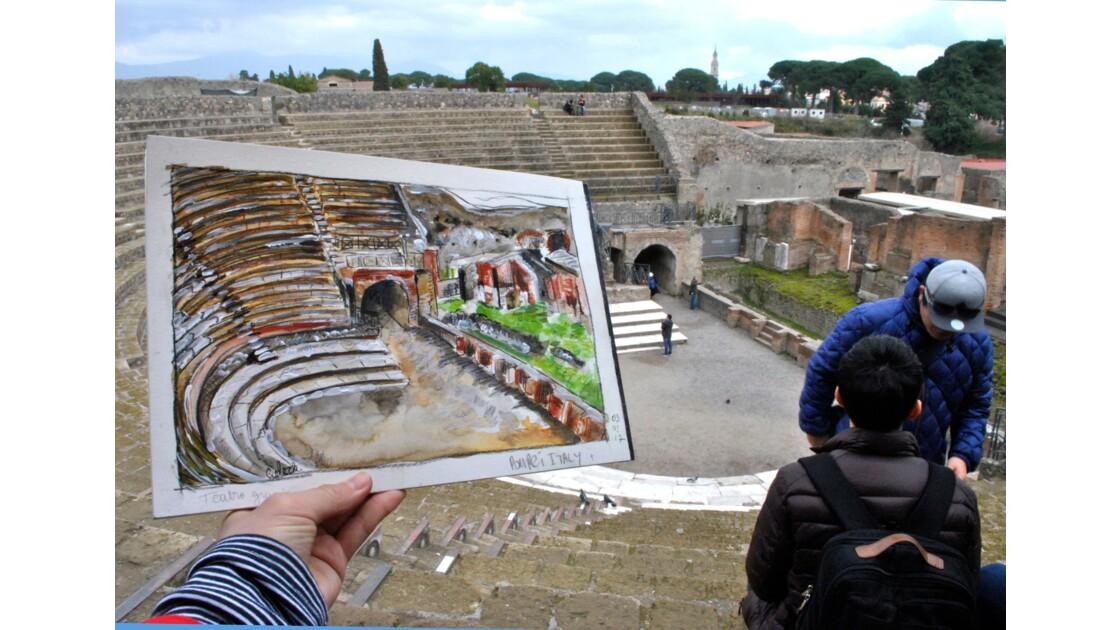 Teatro grande, Pompéi