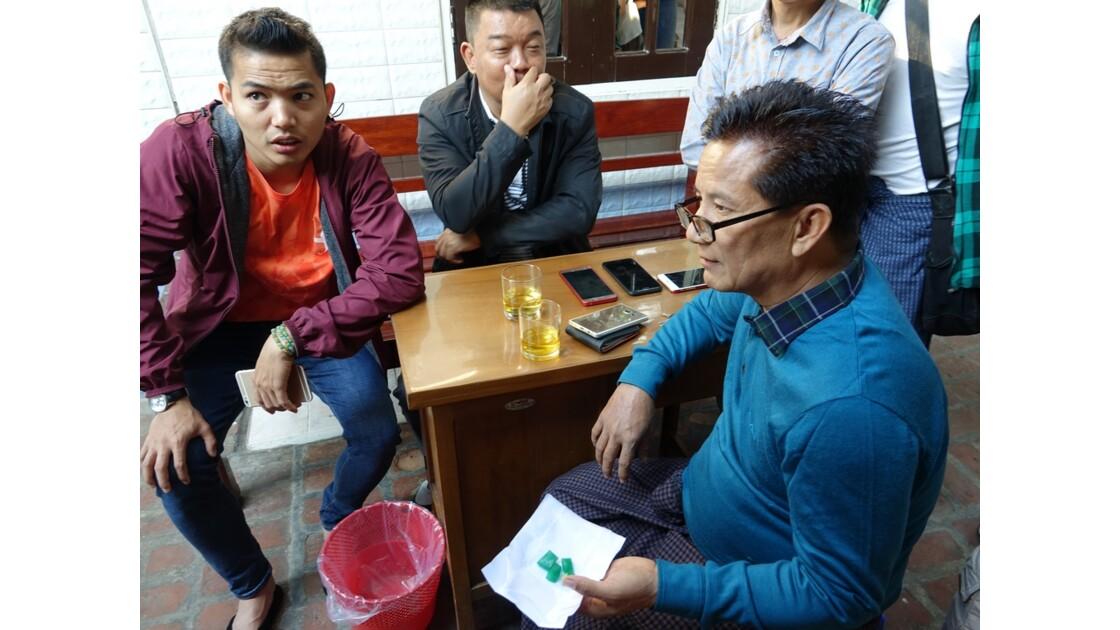 Myanmar Mandalay Le marché de Jade 2