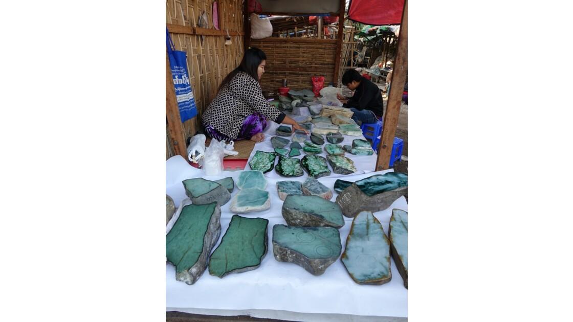Myanmar Mandalay Le marché de Jade 5