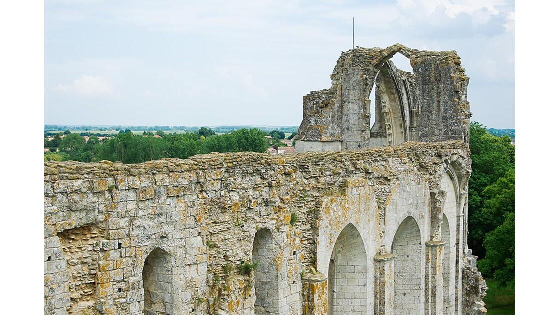 L'abbaye Saint-Pierre à Maillezais (Vendée)