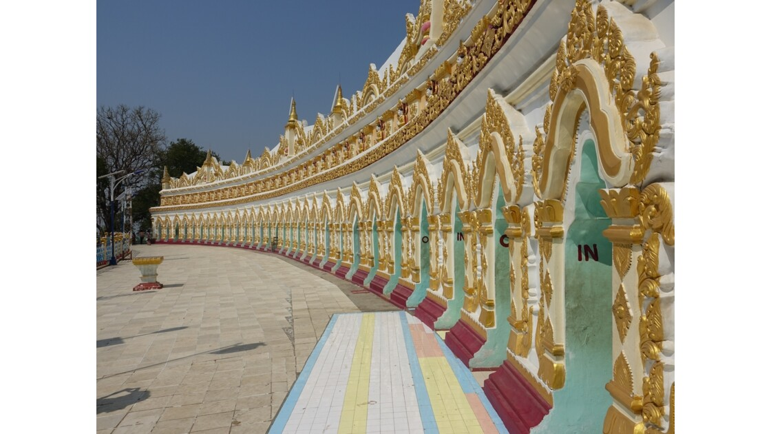 Myanmar Sagaing  Pagode Hsun U Ponnya Shin 1