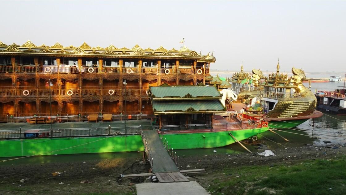 Myanmar Mandalay Le bateau royal de croisière 2