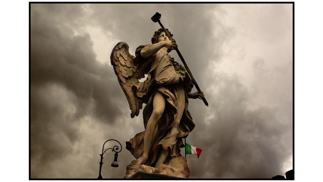 Rome - Ange à l'éponge