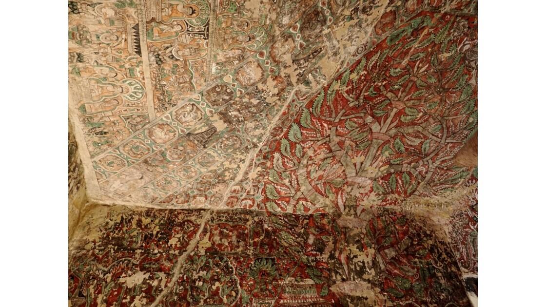 Myanmar Po Win Taung peintures de style Nyaung Yan 2