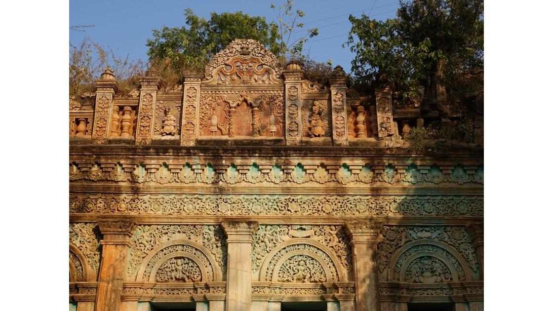 Myanmar Po Win Taung Temple excavé époque coloniale 1