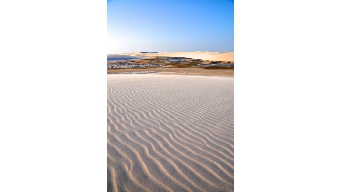 Les dunes de sable Do Brazil