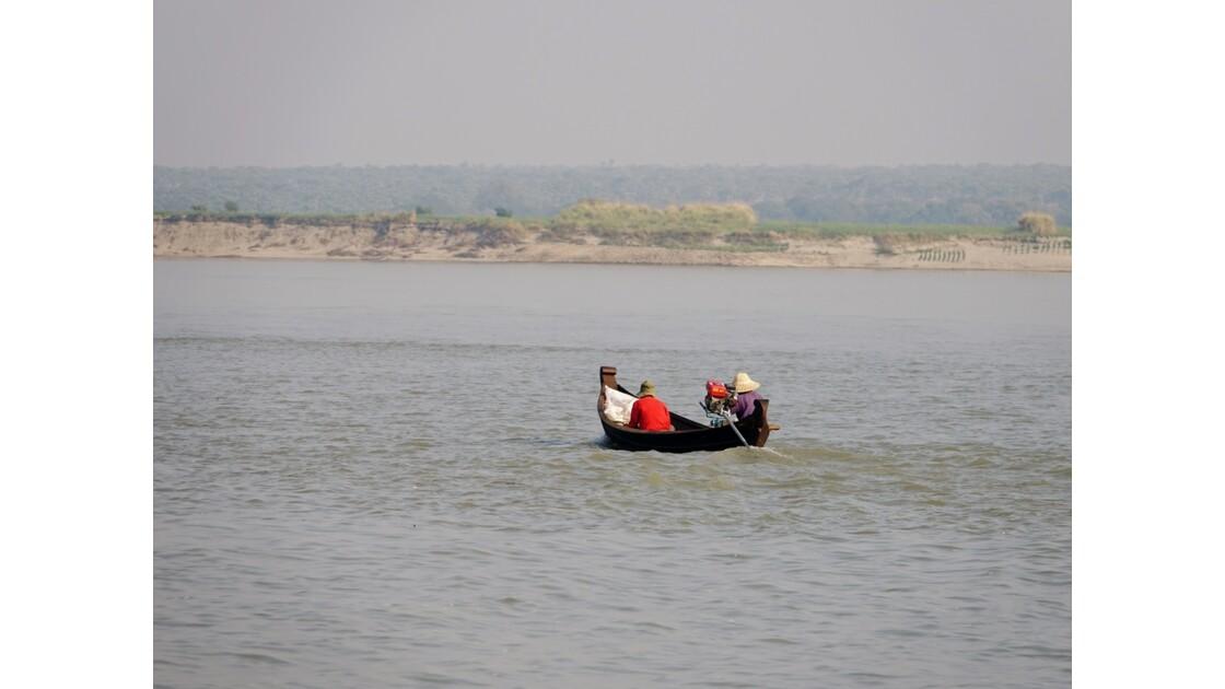 Myanmar Sur le fleuve Irrawaddy 3