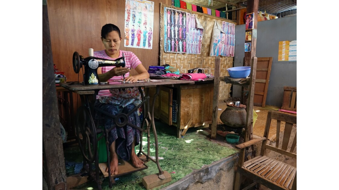 Myanmar Bagan marché de  Nyuang U 4