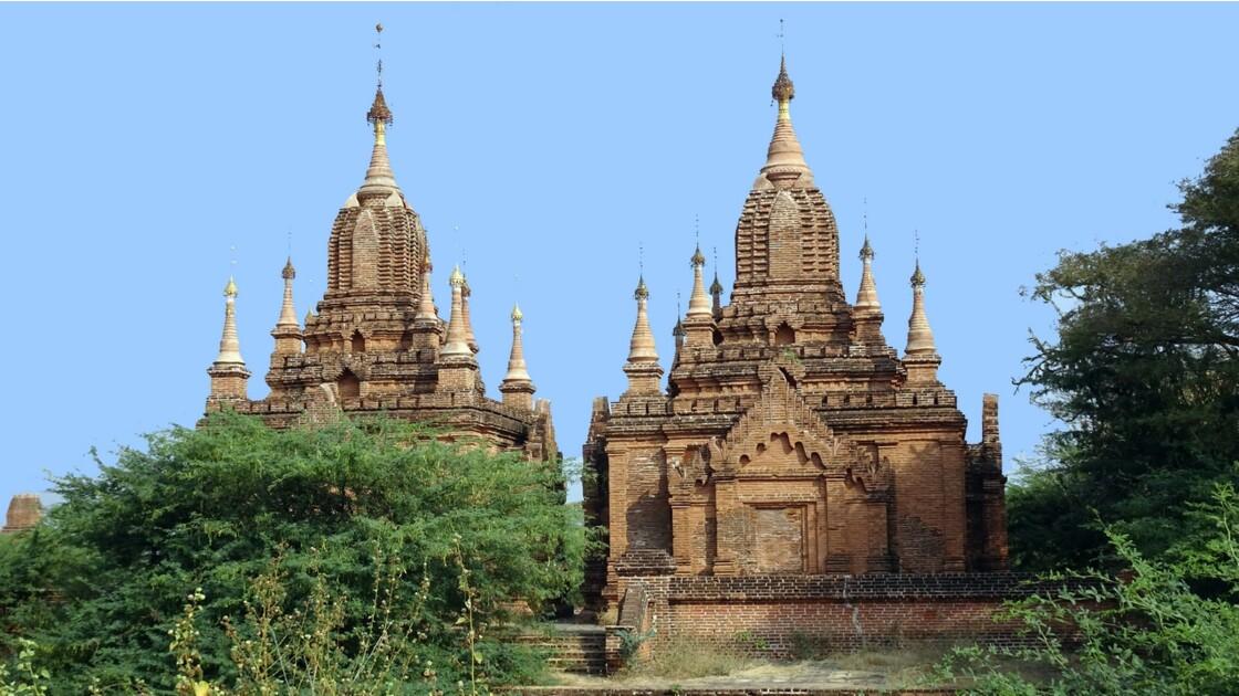 Myanmar Bagan Autour de la pagode Dhamma Yazika 6