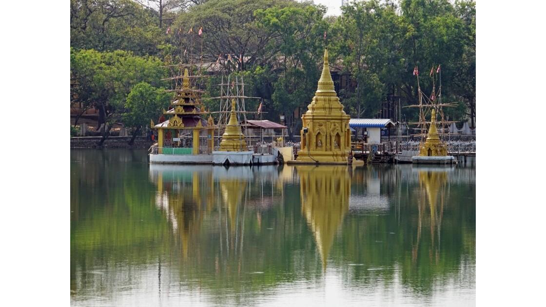 Myanmar Meiktila Autour du lac