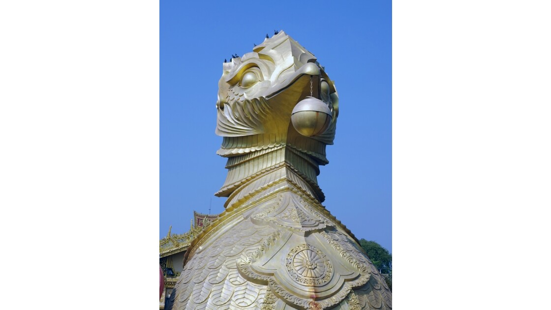 Myanmar Meiktila Le bateau royal 3