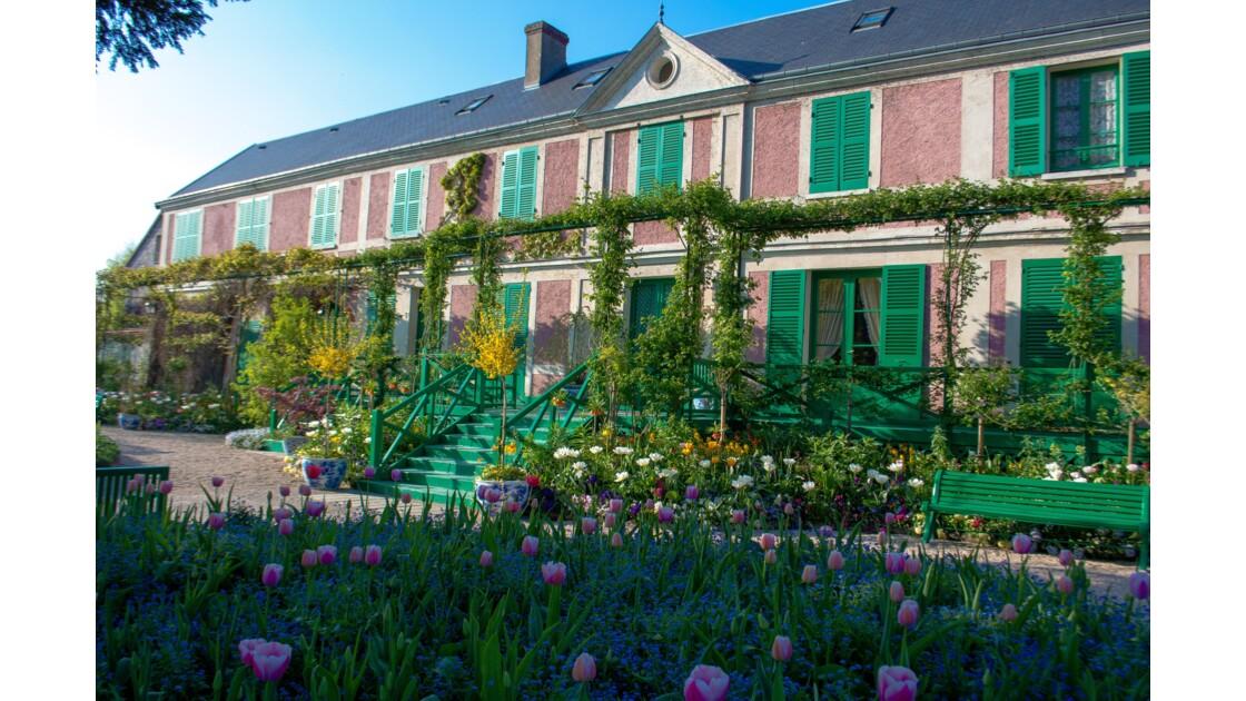 La maison de Claude Monet, père de l'impressionisme