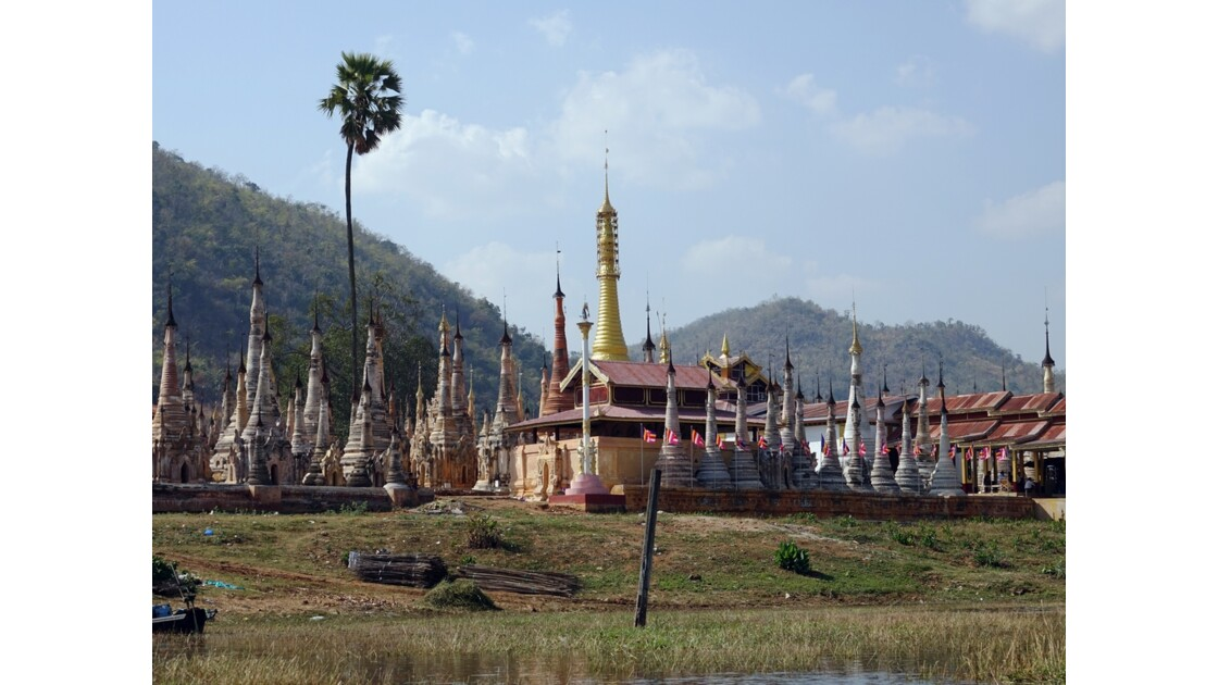 Myanmar Sagar Pagodes de Takhaung 13