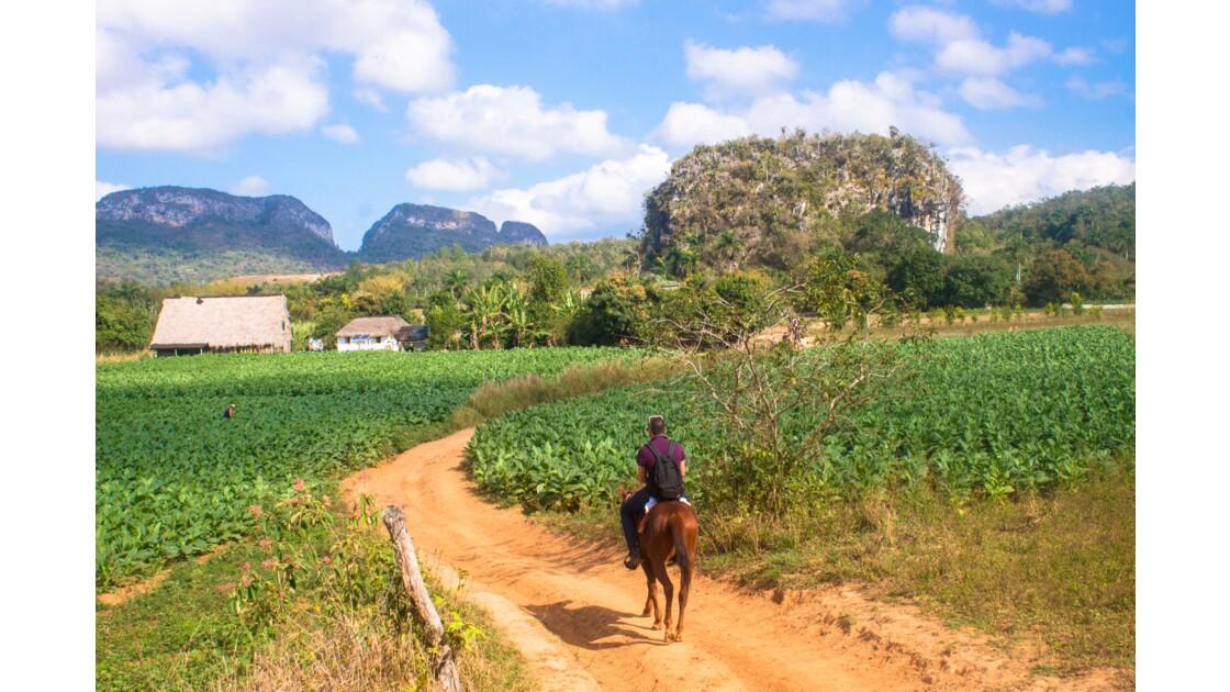 A cheval dans la Valle Del Silencio