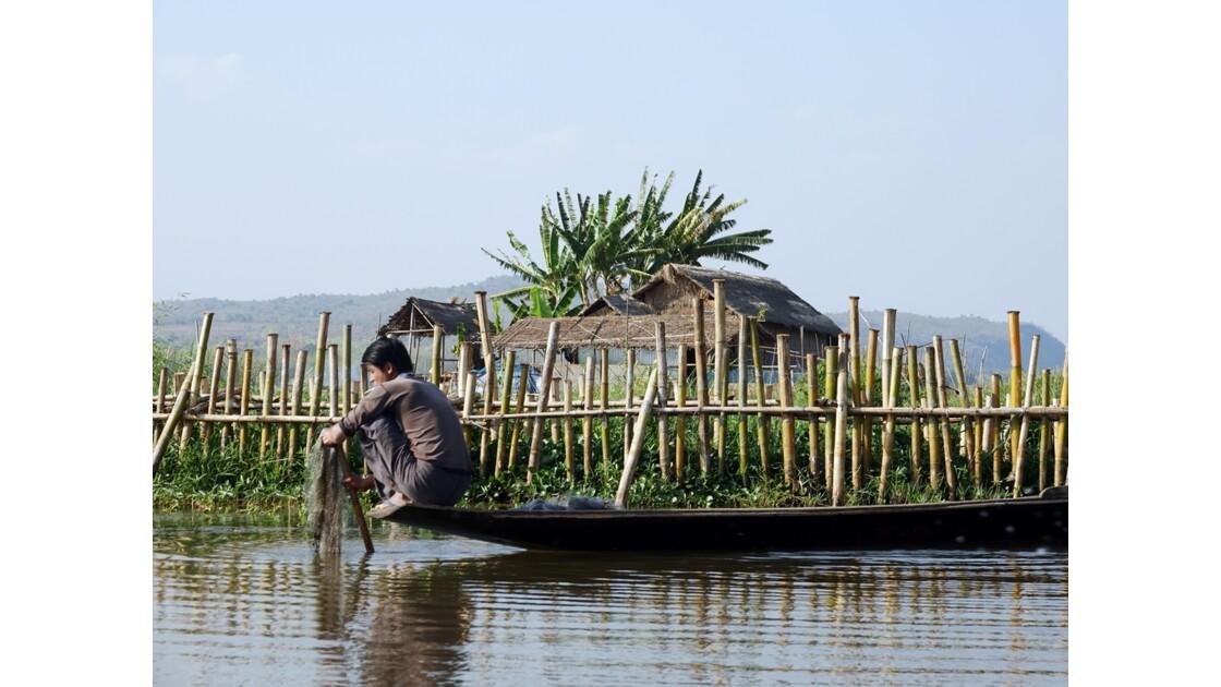 Myanmar Canal entre le lac Sagar et le lac Inlé 4