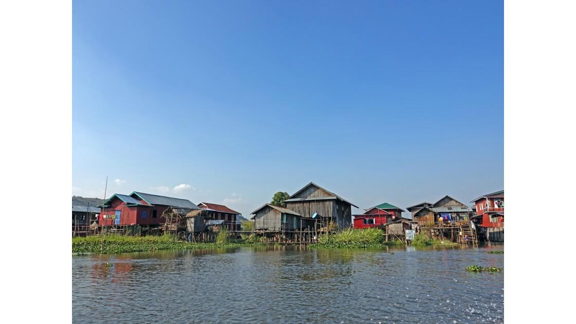 Myanmar Canal entre le lac Sagar et le lac Inlé 8