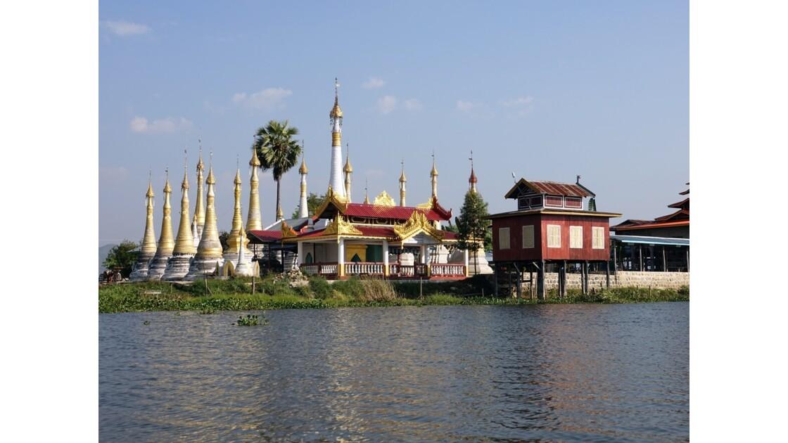 Myanmar Canal entre le lac Sagar et le lac Inlé 18
