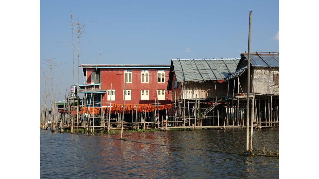 Myanmar Canal entre le lac Sagar et le lac Inlé 24