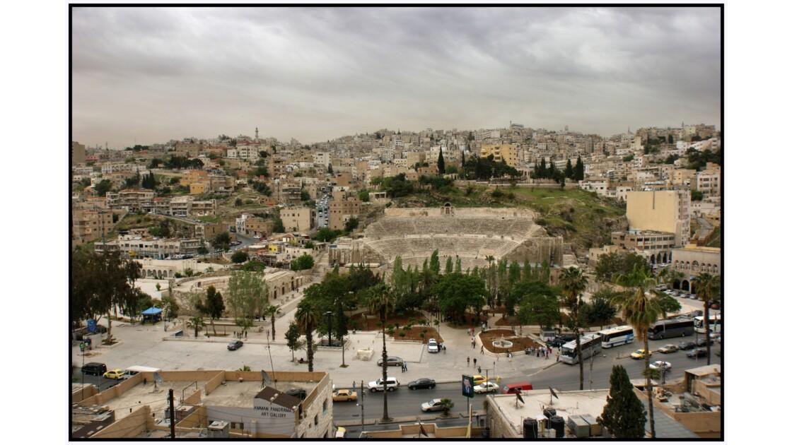 Amman - Théâtre antique et Odéon