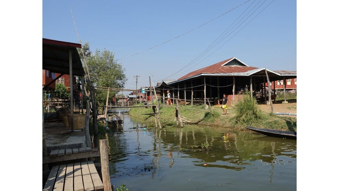 Myanmar lac Inlé Entre Ywana et Nampan 3