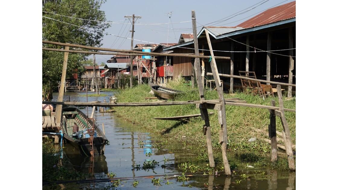 Myanmar lac Inlé Entre Ywana et Nampan 4