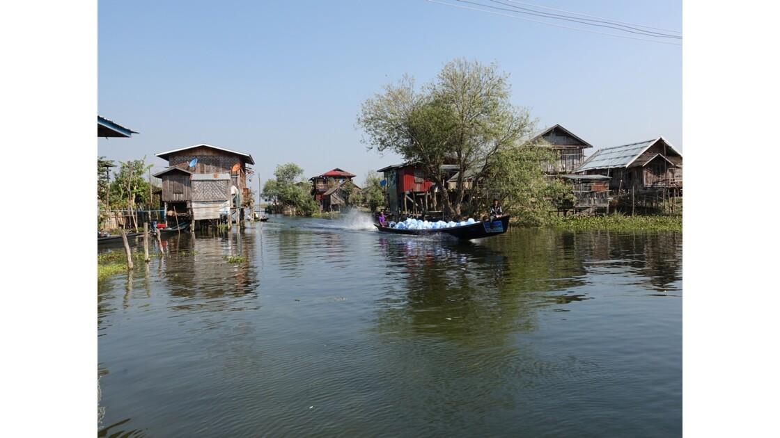 Myanmar lac Inlé Entre Ywana et Nampan 6