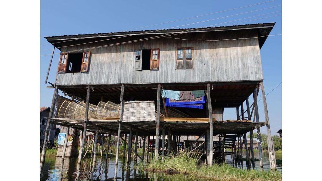 Myanmar lac Inlé Entre Ywana et Nampan