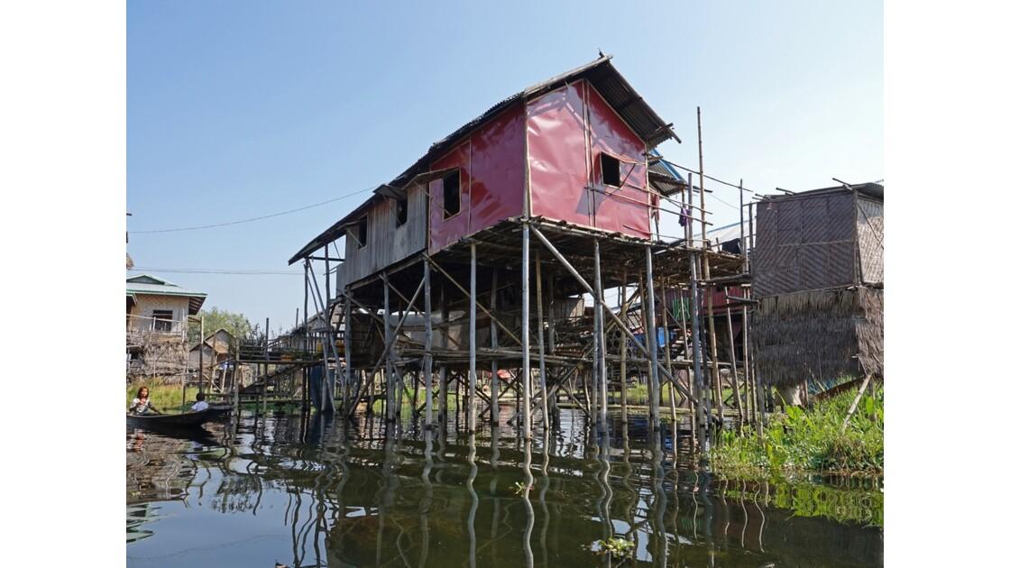 Myanmar lac Inlé Entre Ywana et Nampan 8