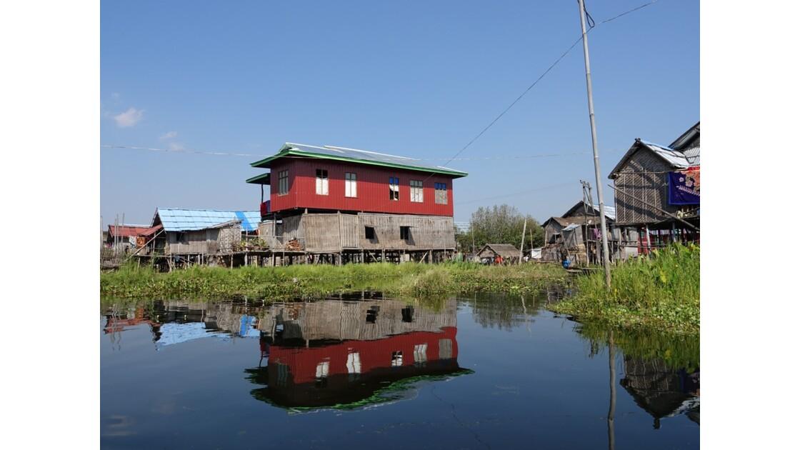 Myanmar lac Inlé Entre Ywana et Nampan 9