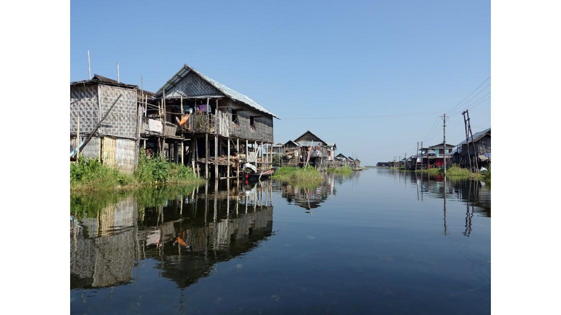 Myanmar lac Inlé Entre Ywana et Nampan 10