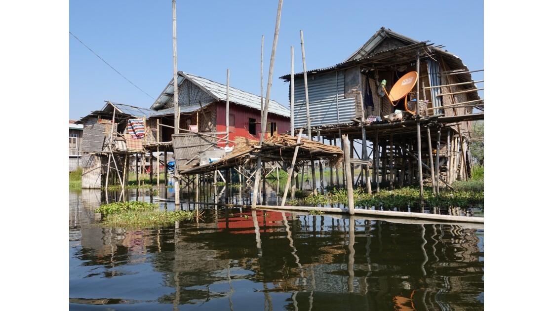 Myanmar lac Inlé Entre Ywana et Nampan 12