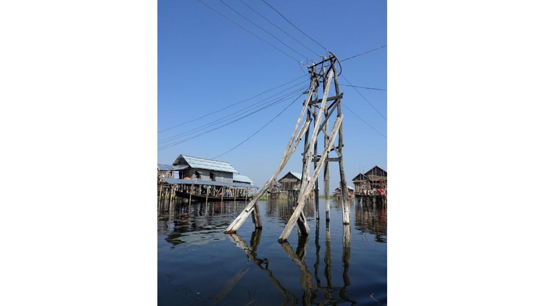 Myanmar lac Inlé Entre Ywana et Nampan 15