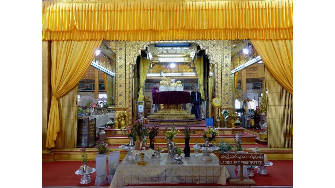 Myanmar Lac Inlé Pagode Phaung Daw Oo le sanctuaire 1
